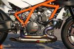 KPL. Titanium Racing Exhaust system AKRAPOVIC RC8