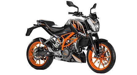 390 DUKE ABS - orange, white